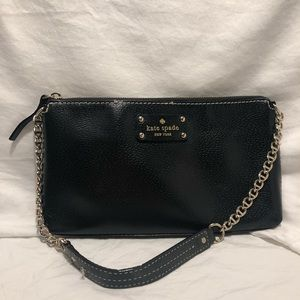 Kate Spade Black Clutch/Shoulder Bag